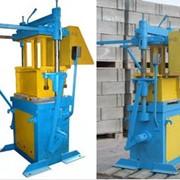 Вибропресс ВП-21 предназначен для производства рядовых и лицевых стеновых материалов фото