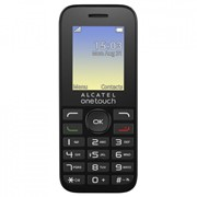Мобильный телефон ALCATEL ONETOUCH 1016D Volcano Black (4894461319353) фото