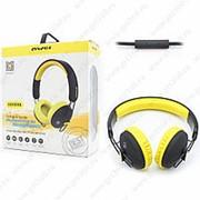 Накладные наушники Awei Bluetooth Stereo A800BL Yellow (Желтый) фото