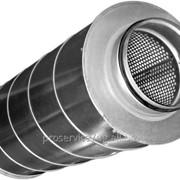 Шумоглушитель для круглых воздушных каналов Shuft SCr 200/600 фото