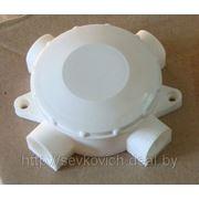 Коробка ОП 4-х рожковая КРК 70х30,наружная, белая фото