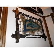 Балки декоративные облегченные из дерева. Мебель под старину фото