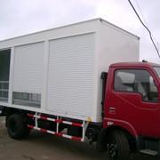 Фургон изотерм с ралеттами фото