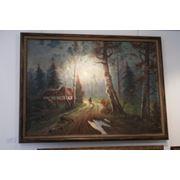 Картина Дом лесника фото