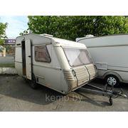 Прицеп-дача Kip 1988 год, вес 600кг, +палатка, 3 спальных места. Продан! фото
