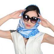 Шёлковый платок с биофотонам фото