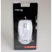 Мышь Pravix белый цвет провод 1 5 м USB-порт фото