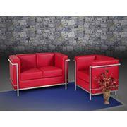 Диваны  кресла  офисные столы  металлические шкафы . фото
