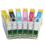 Перезаправляемые картиджи Epson (ПЗК Epson) RX700 T0591-T0599 фото