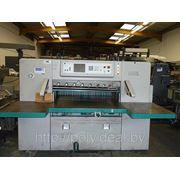 Бумагороезальная машина PERFECTA 115 TVC 1997 год+Большие столы фото