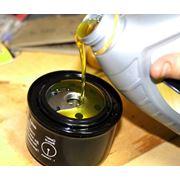 Замена масла в двигателе фото