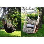 Гамак-кресло для дома и сада для отдыха и интерера фото