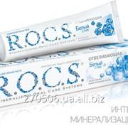 Зубная паста Rocs отбеливающая 74 гр фото