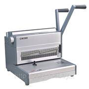 CW360 Перфо-переплетная машина на металлическую пружину фото