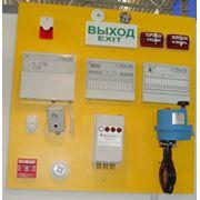 монтаж системы автоматической пожарной сигнализации фото