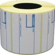Весовая термоэтикетка 58х40/700 фото
