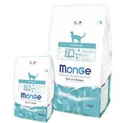 Monge Cat 400г Hairball Сухой корм для взрослых кошек для выведения шерсти фото