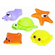 Набор игрушек для купания Морские обитатели (Курносики) фото