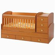 Кроватка деревянная детская MAX TRANSFORMER 3 in 1 фото