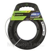 SmartMARK Greenlee УЗК со стальной лентой с разметкой (45 м x 3 мм) фото