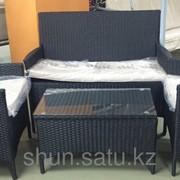Софа + 2 кресла и столик фото