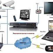 Монтаж, наладка и техническое обслуживание систем видеонаблюдения, комплексной системы безопасности, охранной сигнализации, кабельных систем обогрева, домофонных систем, стальных дверей, видеодомофонов, систем учета рабочего времени, слаботочных сетей фото