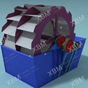 Вращающаяся моечная машина для руды 2XLZ-762 фото