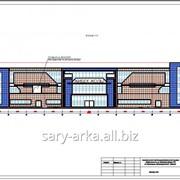 Строительство Торгово развлекательного центра в Кызылорде фото