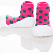 Детская обувь Attipas Розовый Горошек фото