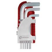 Набор Г-образных шестигранных ключей 9 шт., 1,5-10 мм Small INTERTOOL HT-1801 фото