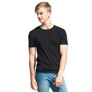 Мужская футболка-стрейч StanSlim 37 Чёрный XL/52 фото