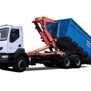 Автомобиль-мусоровоз КрАЗ К18.2R с кабиной Renault фото