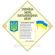 Стенд Символы Украины, арт. 015-03214 фото