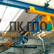 Кран мостовой подвесной однобалочный электрический фото