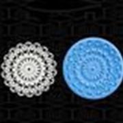 Силиконовые кружевные формы фото