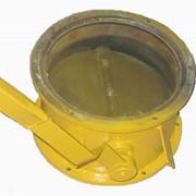 Задвижка поворотная ручная дисковая для цемента и других сыпучих материалов фото