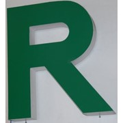 Буквы плоскорельефные фото