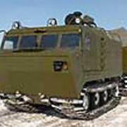 Двухзвенный гусеничный транспортер ДТ-5ПКУ1 фото