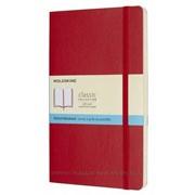 Блокнот Moleskine Classic Soft Large, 192 стр., красный, пунктир фото