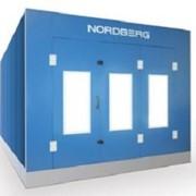 Окрасочно-сушильная камера NORDBERG STANDART с металлическим основанием фото