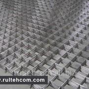 Сетка сварная армирующая вр-1,сетка заборная,сварная, штакетник, сварные панели, столбы. Plasa. Gard фото