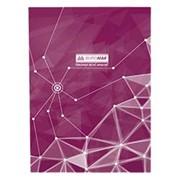 Книга канцелярская Buromax Пирамиды 96 листов клетка А4, филетовый (BM.2400-707) фото