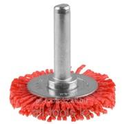 Щетка Зубр Эксперт дисковая для дрели, полимерно-абразивная, 63мм Код:35161-063_z01 фото