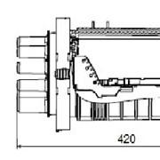 Муфта оптическая FOSC-400 A8 фото