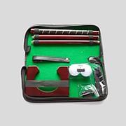 Набор для гольфа в тканевом кейсе фото