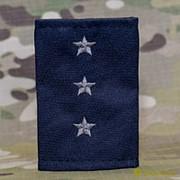 Фальшпогоны МЧС старший прапорщик вышитые серым синие МФ-13-07 фото