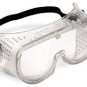 Защитные очки закрытого типа с прямой вентиляцией фото