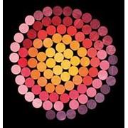 Grimms Мозаика магнитная «Цветные круги 1» (оттенки красный-желтый) арт. RN17875 фото