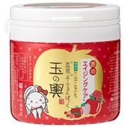 TAMANOKOSHI TOFU MORITAYA Soy milk Yogurt and Red aging care Антивозрастная маска для лица, 150гр фото