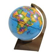Глобус политический, 21 см, на треугольной подставке (Глобусный мир) фото